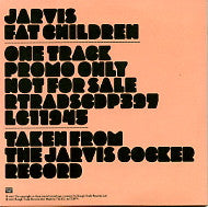 JARVIS (COCKER) - Fat Children