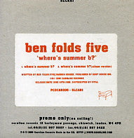 BEN FOLDS FIVE - Where's Summer B?