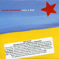 CERYS MATTHEWS - Only a Fool