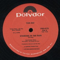 DON RAY - Standing In The Rain / Got To Have Loving