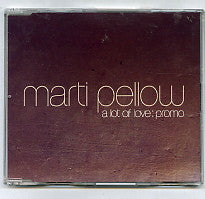 MARTI PELLOW - A Lot Of Love