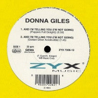 DONNA GILES - And Im Telling You I'm Not Going