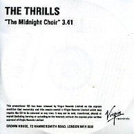THE THRILLS - The Midnight Choir