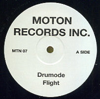 MOTON RECORDS INC. - Drumode Flight / I Got Your Love / Mellow Blo