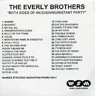 THE EVERLY BROTHERS - Both Sides Of An Evening / Instant Party