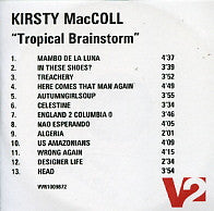 KIRSTY MacCOLL - Tropical Brainstorm