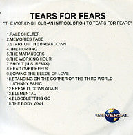 TEARS FOR FEARS - The Working Hour - An Introduction To