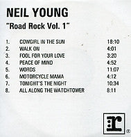 NEIL YOUNG - Road Rock Vol.1