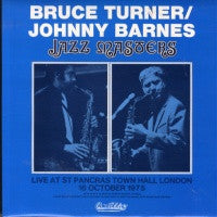 BRUCE TURNER / JOHNNY BARNES - Jazz Masters