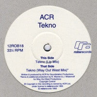 A CERTAIN RATIO - Tekno