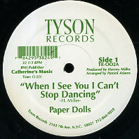 PAPER DOLLS - When I See You I Can't Stop Dancing
