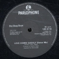 PET SHOP BOYS - Love Comes Quickly / That's My Impression
