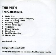 THE PETH - The Golden Mile