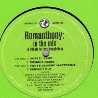 ROMANTHONY - In The Mix