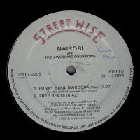 NAIROBI AND  THE AWESOME FOURSOME  - Funky Soul Makossa