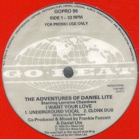 THE ADVENTURES OF DANIEL LITE - I Want Your Love