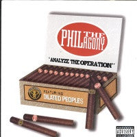 PHIL THE AGONY - Analyze The Operation Feat. Dilated Peoples