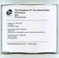 THE PRESIDENTS OF THE UNITED STATES OF AMERICA - EPs