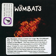 THE WOMBATS - My Circuitboard City