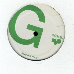 C.O.M.B.I. - Keep A Burning / Stone Waters