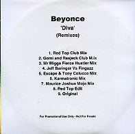 BEYONCE - Diva (Remixes)