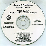 JIMMY D ROBINSON PRESENTS CEEVOX - At Midnight