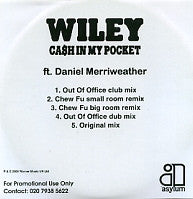 WILEY FT. DANIEL MERRIWEATHER - Cash In My Pocket
