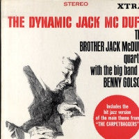 BROTHER JACK MCDUFF QUARTET, THE WITH BENNY GOLSON ORCHESTRA - The Dynamic Jack McDuff