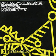 DJ GREGORY & GREGOR SALTO - Con Alegria / Push In The Bush