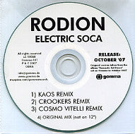 RODION - Electric Soca