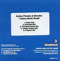 ANTON POWERS & ROSSKO - Yellow Brick Road