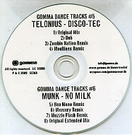 TELONIUS / MUNK - Disco-Tec / No Milk