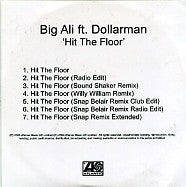 BIG ALI FT. DOLLARMAN - Hit The Floor