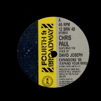 CHRIS PAUL FEATURING DAVID JOSEPH - Expansions '86