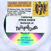 STEVE CONTE & THE CRAZY TRUTH - Steve Conte & The Crazy Truth