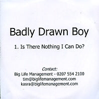 BADLY DRAWN BOY - Is There Nothing We Could Do?