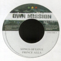 PRINCE ALLA / DERAJAH - Songs Of Love / Fighting For.