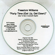 FREEDOM WILLIAMS - Party Time (Get Up, Get Down)