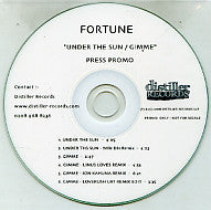 FORTUNE - Under The Sun / Gimme