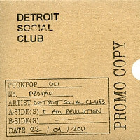 DETROIT SOCIAL CLUB - I Am Revolution
