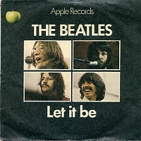 THE BEATLES - Let It Be / You Know My Name (Look Up The Number)