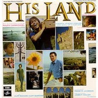 CLIFF RICHARD & CLIFF BARROWS WITH THE RALPH CARMICHAEL ORCHESTRA AND CHORUS - His Land