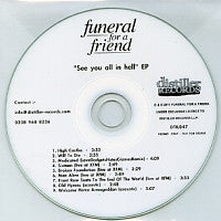 FUNERAL FOR A FRIEND - See You All In Hell EP