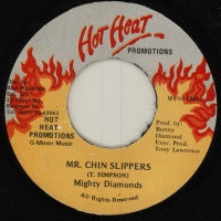 THE MIGHTY DIAMONDS - Mr. Chin Slippers / Version.