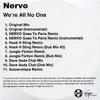 NERVO - We're All No One