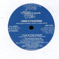 EDEN'S PARADISE - This Is The Dance
