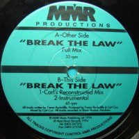 GLOW - Break The Law