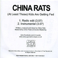 CHINA RATS - (At Least Those) Kids Are Getting Fed