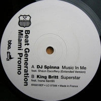 DJ SPINNA / KING BRITT - Beat Generation Miami Promo