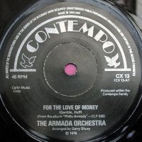 ARMADA ORCHESTRA / ULTRAFUNK - For The Love Of Money / Sting Your Jaws